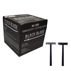 Einwegrasierer schwarz 100 Stück