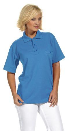 Polo-Shirt Kurzarm Unisex weiß