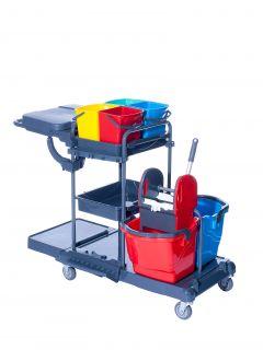 Reinigungswagen RW1 Quattro Kunststoff