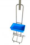 Desinfektionswagen mit Tropfschale mobil