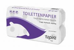 Toilettenpapier Soft 3-lagig hochweiß 72 Ro./a 250 Blatt