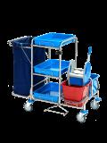 Reinigungswagen RW1 Edelstahl