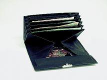 Kellner-Geldbörse aus Vollrindleder